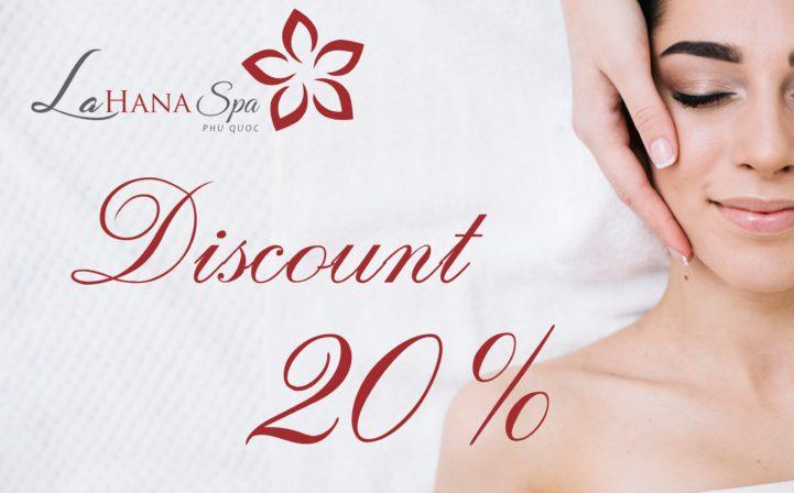 Spa Service: Specical Offer 20% Off